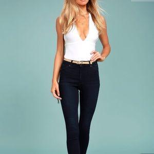 Lulu's white bodysuit XS